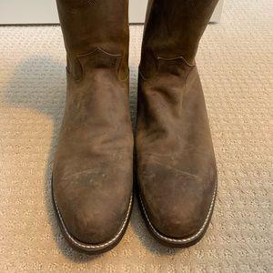 JUSTIN's men's cowboy boots size 13